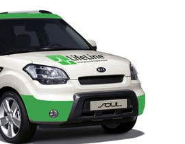 #34 untuk Design wrap for our mobile solution car, phone company oleh NicolasFragnito