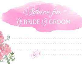 #11 cho Design some Stationery for wedding advice cards bởi ancadc