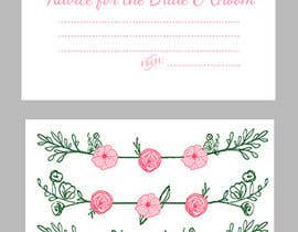 #21 for Design some Stationery for wedding advice cards af ancadc
