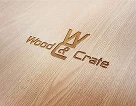 #41 untuk Design a Logo for Wood & Crate oleh Dimches