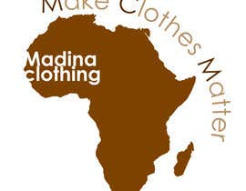 Nro 5 kilpailuun Design a Logo for Madina Clothing a Charitable Company in the UK Supporting The Gambia käyttäjältä noolee