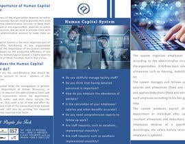 #32 untuk Re-Design of Human Capital System Brochure oleh vivekdaneapen