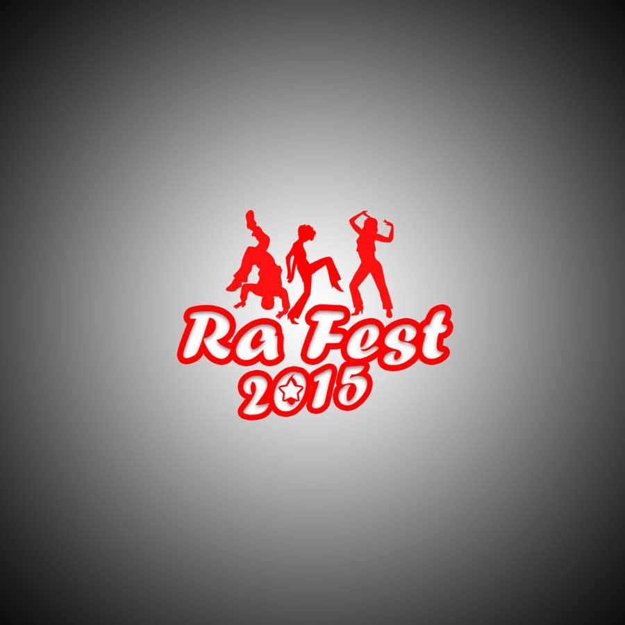 Penyertaan Peraduan #3 untuk RA Fest Logo