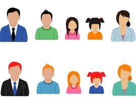 #34 untuk URGENT - Simple Character Icons ( Five Icons ) . oleh crossforth