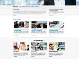 nikil02an tarafından Design a Website Reponsive PSD Template + Website Logo için no 4