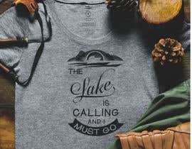 Nro 36 kilpailuun Design a T-Shirt for Lake käyttäjältä TheScylla
