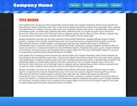 nº 5 pour Need nice web templates designed ONLY with Google Fonts or HTML complaint fonts par robertlopezjr