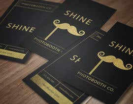 #88 for Design a Business Cards for SHINE Photobooth Co. by Elsawaf2050