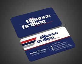 #141 for Design some Business Cards for Drilling Riggs oil & gas by imtiazmahmud80