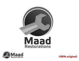 #114 for Design a Logo for Maad Restorations af exua