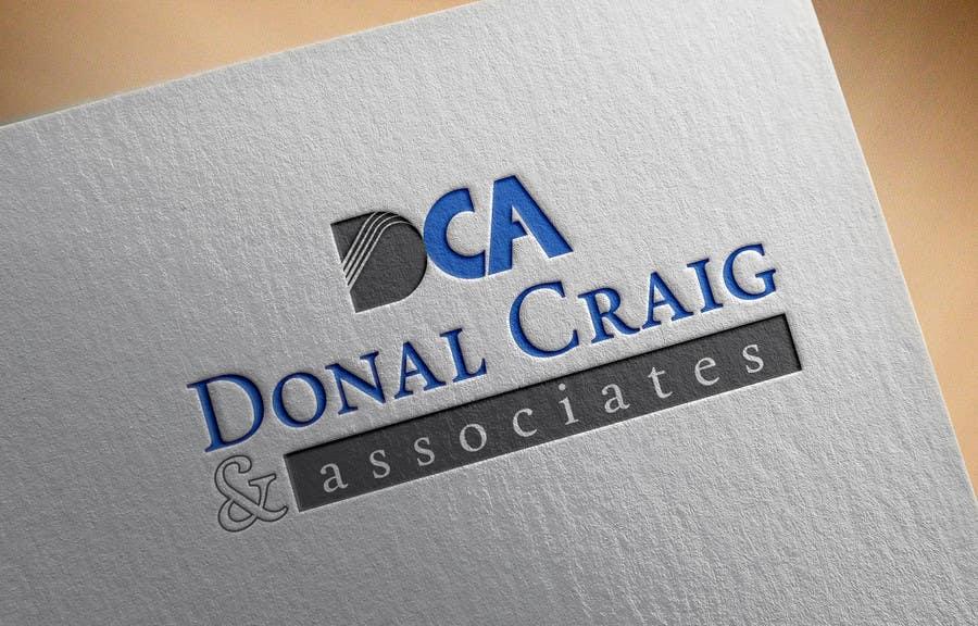 Penyertaan Peraduan #14 untuk Design a Logo for Donal Craig and Associates