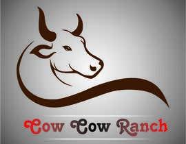 rohit4sunil tarafından Design a Logo for Cow Cow Ranch için no 27