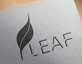 #59 untuk Design a Font Logo for Leaf oleh pernas