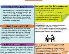 #13 for Design a Brochure for Tuition Centre & Private Tuition af jayadembla