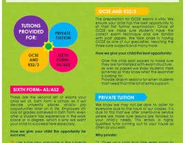 #21 for Design a Brochure for Tuition Centre & Private Tuition af nerielm25