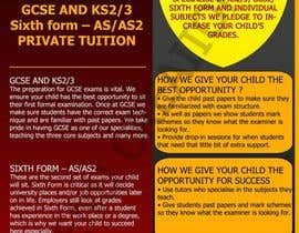 #16 for Design a Brochure for Tuition Centre & Private Tuition af meenuchan93
