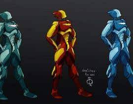 skillleton tarafından Need a character in robot style için no 8