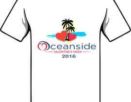#114 untuk Design a T-Shirt for Oceanside Valentine Week oleh eshasem