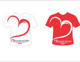 #120 untuk Design a T-Shirt for Oceanside Valentine Week oleh abdullahahmad657