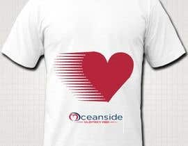 #131 untuk Design a T-Shirt for Oceanside Valentine Week oleh dprachi
