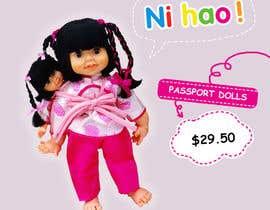 Nro 11 kilpailuun Passport Dolls käyttäjältä Maitran203