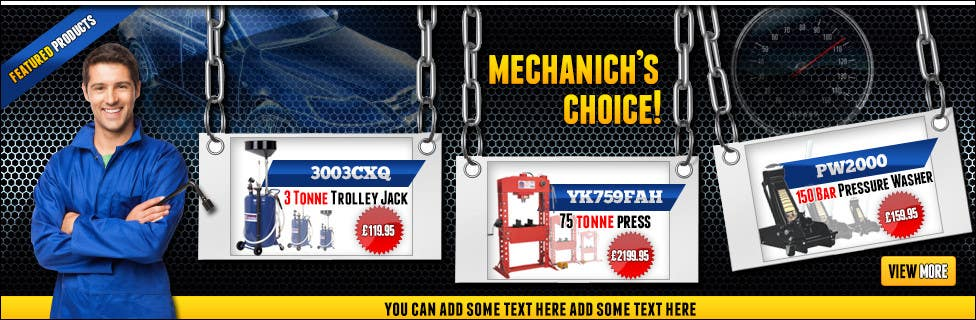 Contest Entry #12 for Design Banners for web based tool company