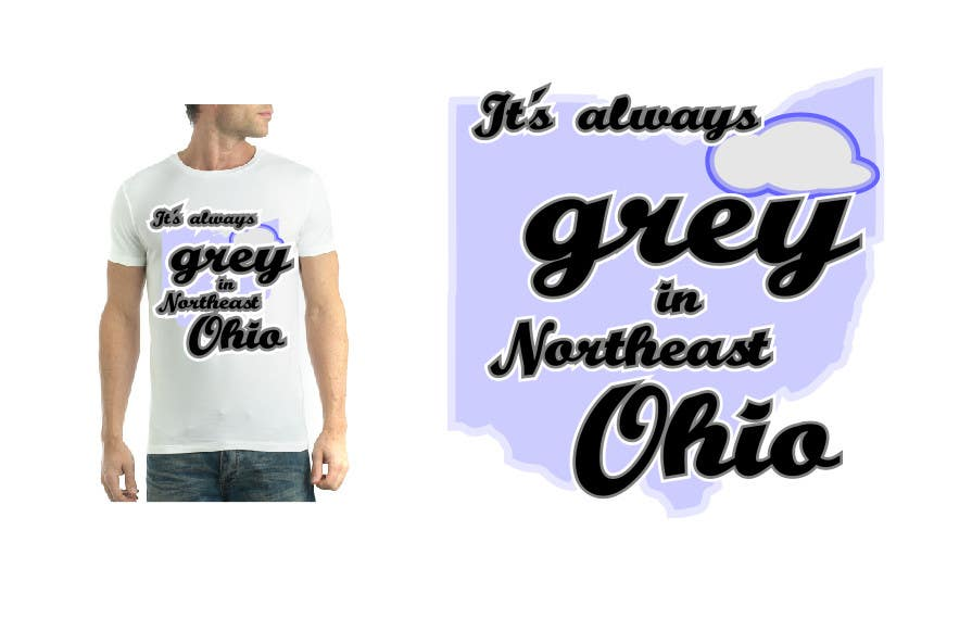 Bài tham dự cuộc thi #                                        21                                      cho                                         Design a T-Shirt for Northeast Ohio