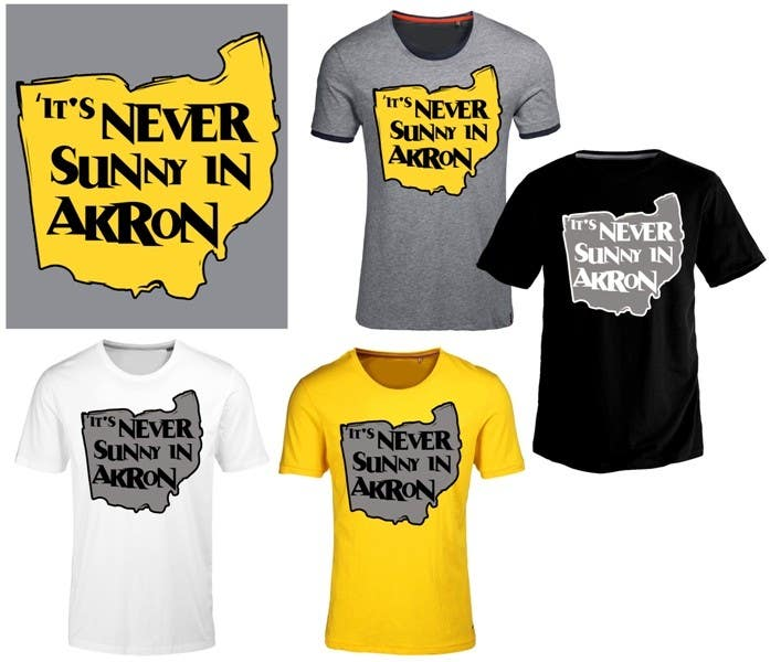 Bài tham dự cuộc thi #                                        11                                      cho                                         Design a T-Shirt for Northeast Ohio