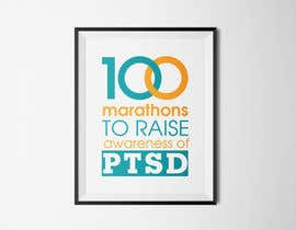 #30 untuk Design a Logo for 100 Marathons for Post Traumatic Stress Disorder oleh cuongprochelsea