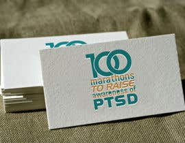#47 untuk Design a Logo for 100 Marathons for Post Traumatic Stress Disorder oleh anatomicana