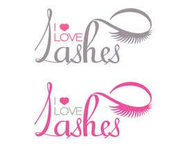 #28 cho Diseñar un logotipo para I Love Lashes bởi adryaa