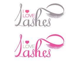 #28 untuk Diseñar un logotipo para I Love Lashes oleh adryaa