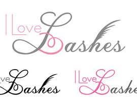#43 cho Diseñar un logotipo para I Love Lashes bởi adryaa