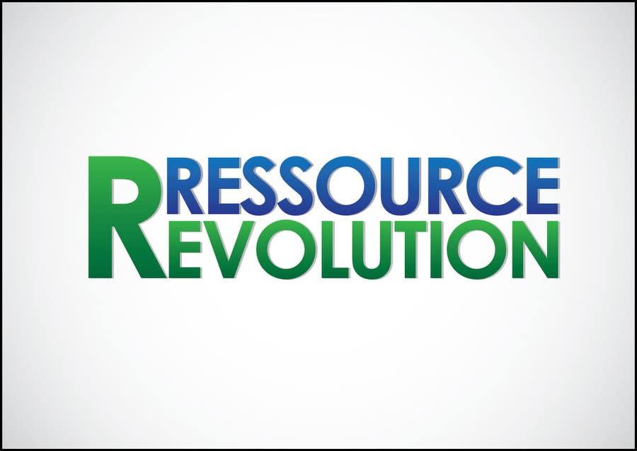 Bài tham dự cuộc thi #20 cho Design a Logo for RessourceRevolution
