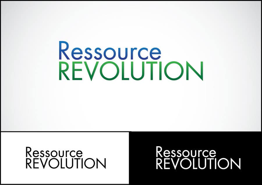 Bài tham dự cuộc thi #29 cho Design a Logo for RessourceRevolution