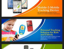 #12 untuk Design 3  Banner Images for GPS tracking business oleh jhess31