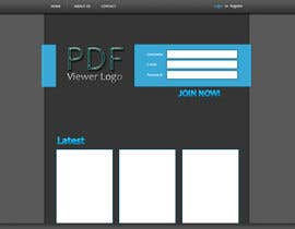 #1 para Mockup / Design for Web-Based Advanced PDF Viewer por AusicAlen