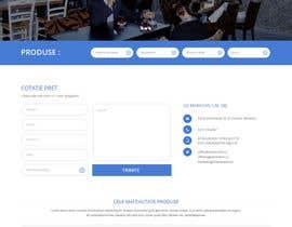#13 untuk Design a Website Mockup for geambalcon.ro oleh syrwebdevelopmen