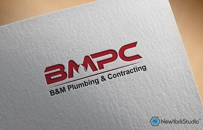 #171 untuk Design a Logo for B&M Plumbing & Contracting oleh SergiuDorin