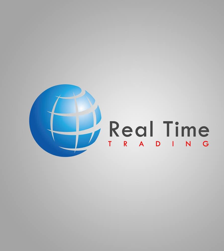 Bài tham dự cuộc thi #                                        34                                      cho                                         Design a Logo for Real Time Trading