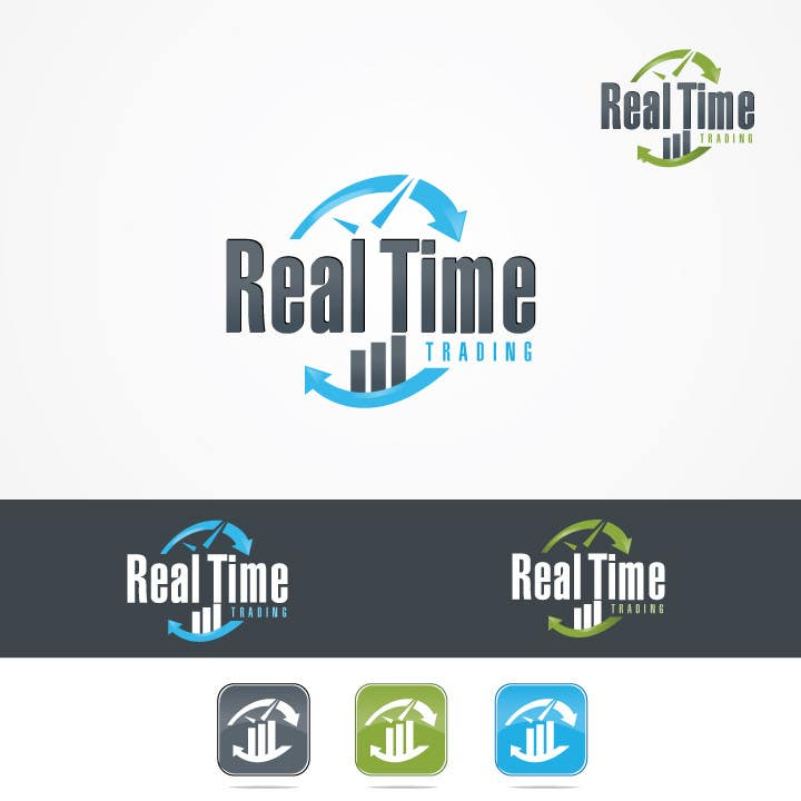 Penyertaan Peraduan #41 untuk Design a Logo for Real Time Trading
