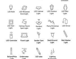 PavelMors tarafından Design some Icons for Different Lighting Types için no 10