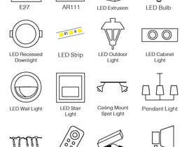 #8 cho Design some Icons for Different Lighting Types bởi sarafsarmento