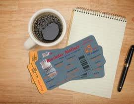 Nro 8 kilpailuun Design a Birthday invitation like a plane boarding card käyttäjältä frndgargi