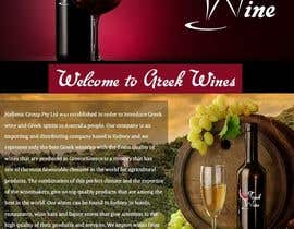 #11 untuk Design a Facebook landing page for  Greek wine oleh vivekdaneapen