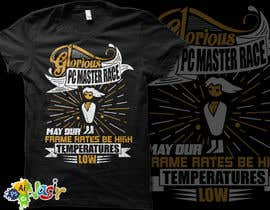 #19 cho T-Shirt Design: PC Master Race bởi nasirali339