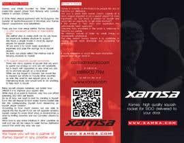 #15 untuk Xamsa Squash Brochure Design oleh michaelzihanzu