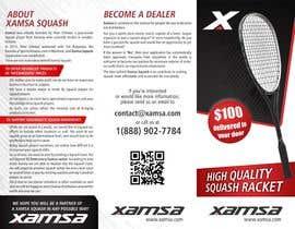 #8 untuk Xamsa Squash Brochure Design oleh ssergioacl