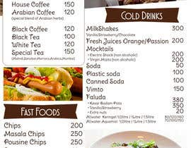 #8 para Design  Food and Beverage Menu for Shisha Sports Lounge -- 2 de desainroom
