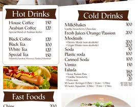 #15 para Design  Food and Beverage Menu for Shisha Sports Lounge -- 2 de desainroom